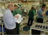 Auditing in the manufacturing department