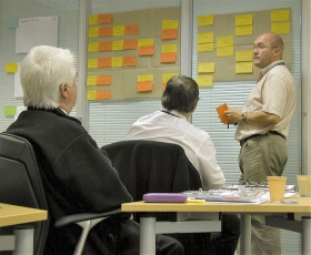 Teams identify their key 'operation processes'