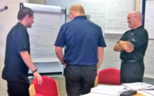 Team agreeing on audit conclusions